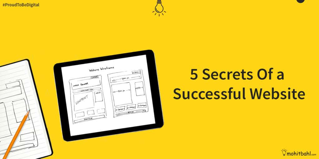 secrets of a successful website
